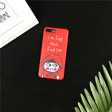 IMD Printing Spoof Little Red Hat Phone case Slim Soft TPU Mobile Phone Cover for iPhone 6/6s case welcome customize