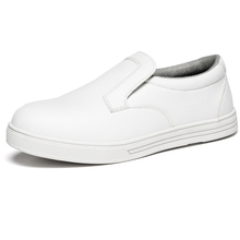 Microfiber White Executive Safety Shoes for Nurse Hospital