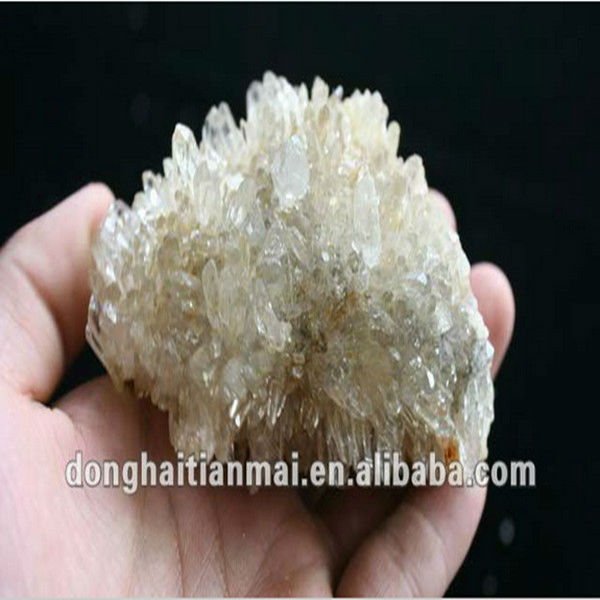 Outstanding Crystal Mineral Cluster Wholesale / Shinning Rock Crystal Cluster
