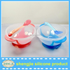 FDA & LFGB Baby Products Collapsible Silicone Bowl with Lid