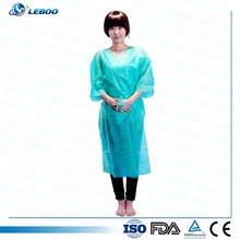 Low price disposable hospital patient gown