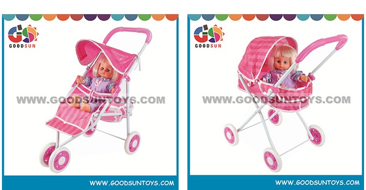 Best sell baby stroller china for kids pink doll stroller baby design strollers for sale