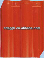 color RAL2001 stone coated metal roof tile