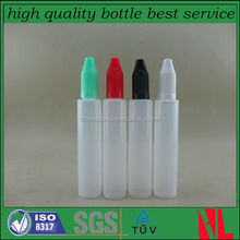 Factory price New design long thin tip dropper bottles pen shape 30ml plastic dropper bottle