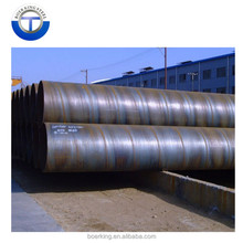 EN10296 SSAW HSAW DSAW Steel Pipe, S355 Spiral Steel Pipe API 5L psl1 x42 x50 x60 x70