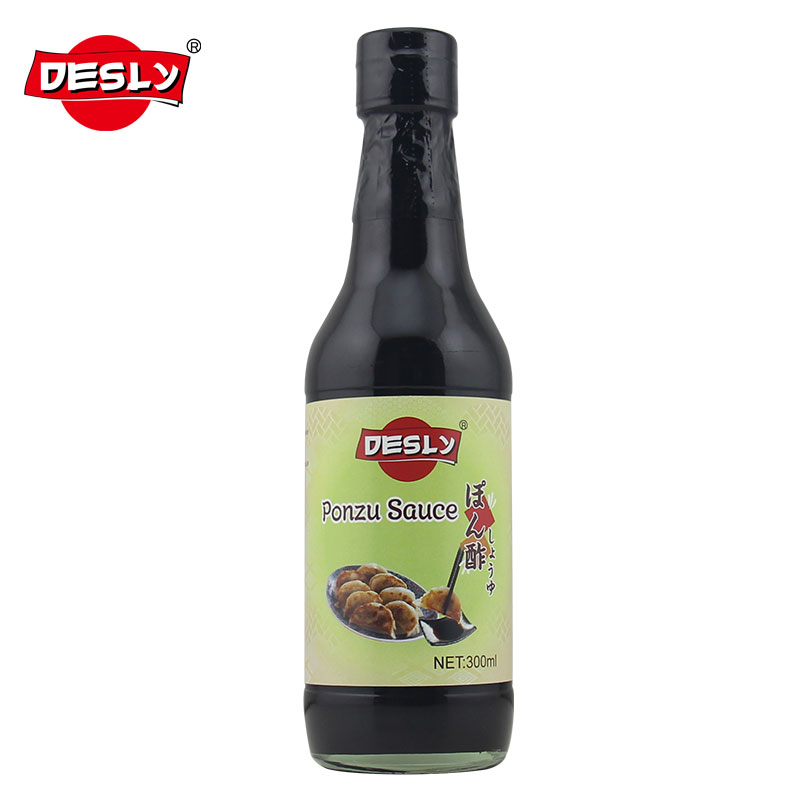 Ponzu Sauce 300ml glass bottle Japanese seasonings
