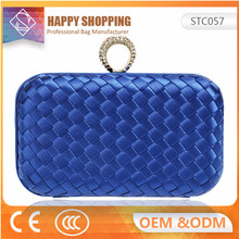 The new evening bag women knit clutch bag temperament retro wild