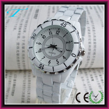 Geneva cearmic wtch,geneva ladies watch,white ceramic watch