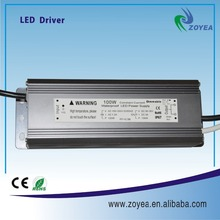 high power 100w IP67 waterproof electronic led driver with PWM 0-10v dimming DC30~36V 2.1/2.4A ip67 with CE and RoHs