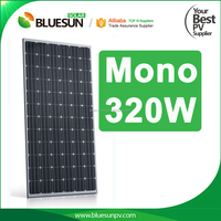 4BB Black mono 24V 320W 310W photovoltaic solar panel