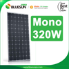 Yingli 320W photovoltaic solar panel 24V 4BB Black mono solar panel