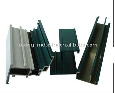 powde rcoating aluminium profile