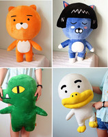 Hot selling OEM korea cartoon doll toy kakao friends plush toy for girl