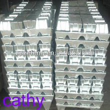 Zinc ingot used for die casting alloy battery industry