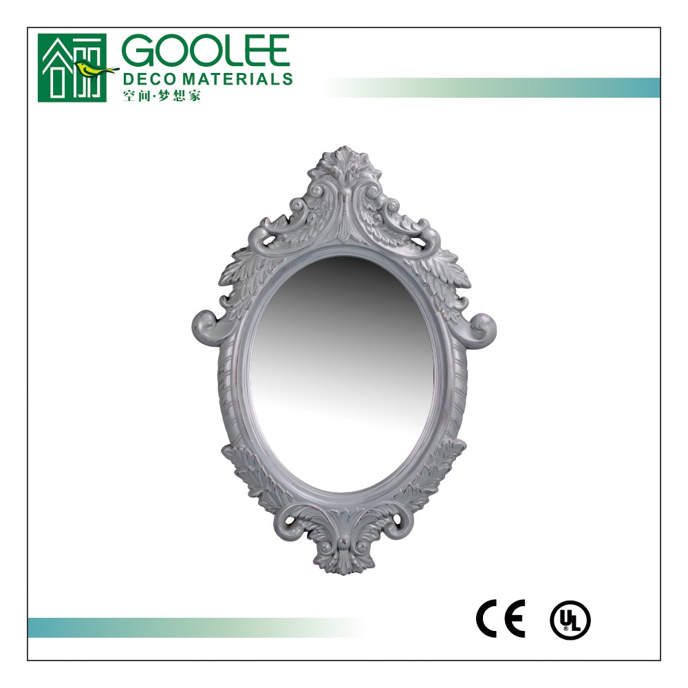 carved antique design luxury decorative mirror frame