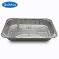 Disposable aluminum foil food storage containers deep pan catering rectangular container