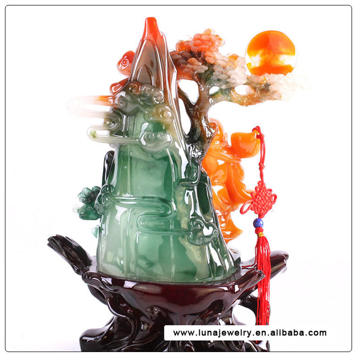 Chinese buddha Art Jade buddha Craft for Gift,laughig buddha