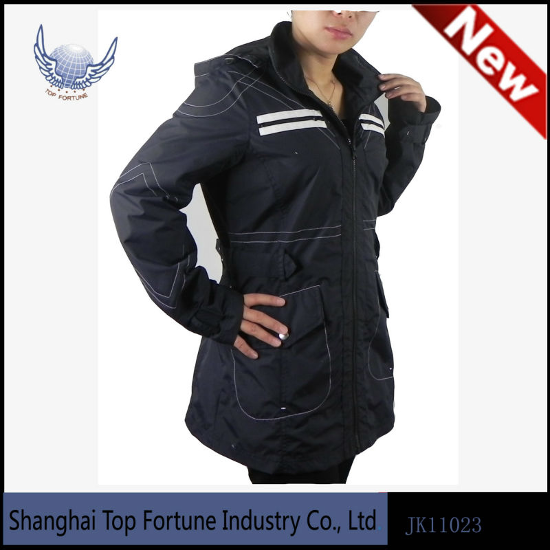 Tape seam women jacket 2013
