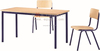 High quality wooden top steel frame office teacher desk, school teacher office writing table