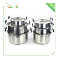 Wholesale Good Quality & Cheap Price 12pcs Stainless Steel Cookware Set
