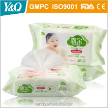 OEM Soft Non-woven Spunlace Wet Baby Tender Wipes