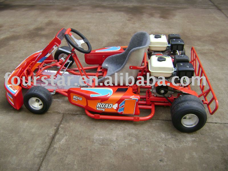 13HP DOUBLE ENGINE GO KART