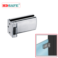 sus304 stainless steel glass clamp hinge for 8-12mm frameless glass partition SA8700A-9