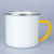 350ml Cheap bulk enamel mugs with hand painted handle