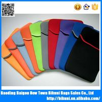 Wholesale cheap custom color lightweight neoprene laptop sleeve protect laptop bag