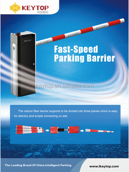 KEYTOP straight boom barrier 3 meters with IP54