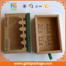 Special designed kraft paper packaging box for kids gift