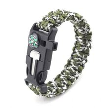 Different Types Of Grey Wholesale 550 Cheap Paracord Survival Bracelets Bundle Bracelet Watch