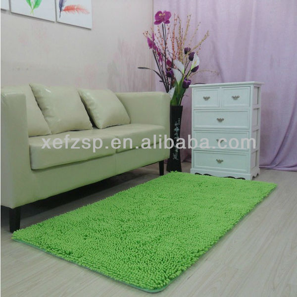 colorful extra long chenille carpet new product ideas 2013