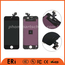 With many small parts mobile phone lcd for iphone 5 5G 5C, mobile phone lcd 5s