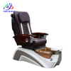 KANGMEI high back disposable manicure pedicure sets european pedicure chair with stainless steel decoration S830
