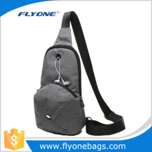 Men sling travel hat bag
