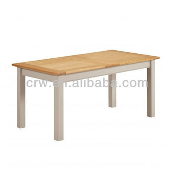Dt 4008 malaysia oak furniture up and down dining table for Table up and down but