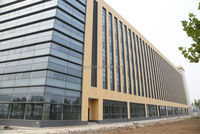 Terracotta Panel glass curtain wall installation
