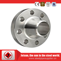 ASME B16.5 pipe fitting and flange weld neck slip on plate A105