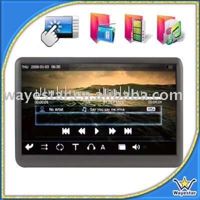 Touch Screen Smart Music Player