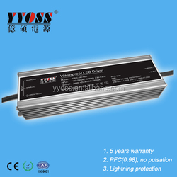 5 years warranty 240W 4500mA 6000mA 7000mA 7200mA waterproof led power supply with competitive price