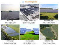 Competitive price widely use high efficiency polycrystalline solar panels