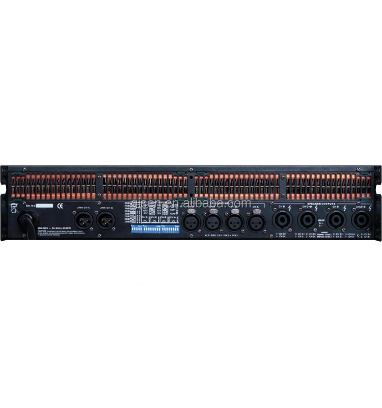 FP10000Q power amplifier 4x1300w