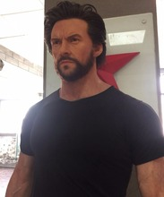 Wolverine statue action wax figures Marvel film items Hugh Jackman Wax Figures for Sale