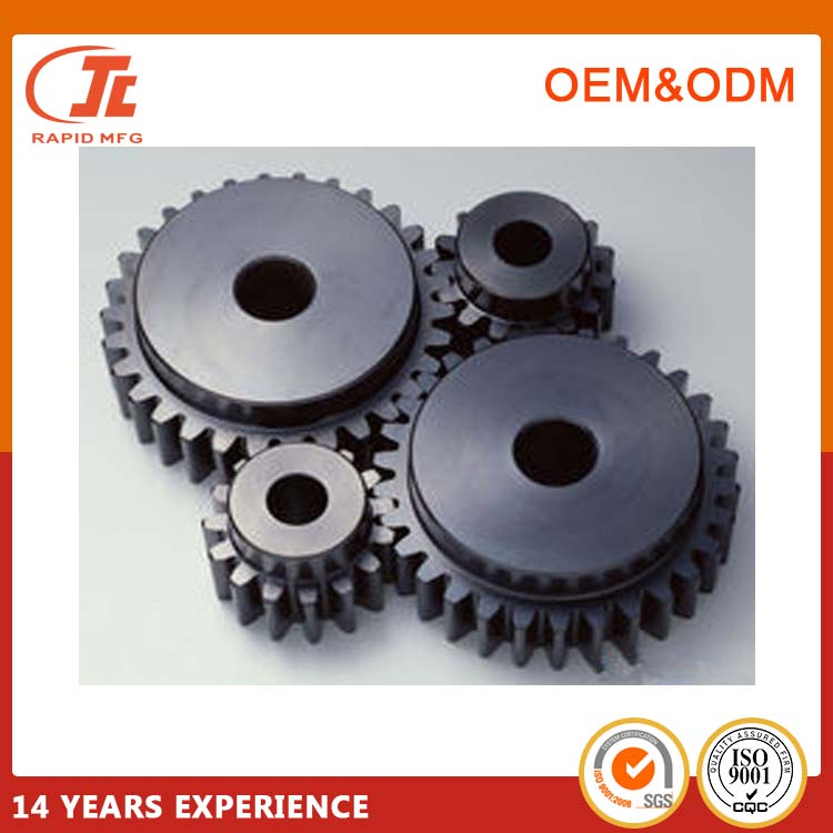 High precise custom industrial parts plastic worm gear mold