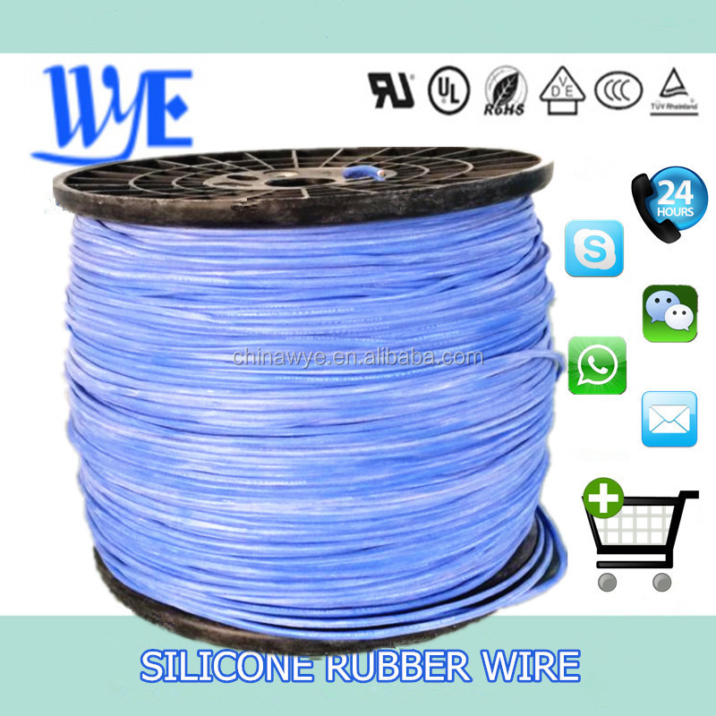0.6/1kv 16 gauge copper silicone insulated high voltage leading wire
