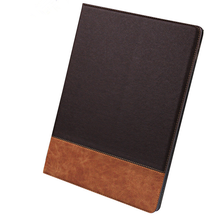 2016 Hot Selling Commercial Style Flip Stand PC+PU Leather Case for iPad Air 2 with Card Slots