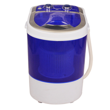mini single tub portable compact washer washing machine with spin dryer