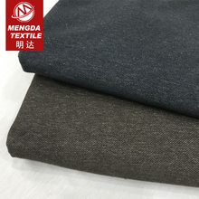 12 oz single jersey twin yarn coloured 100% cotton twill knitted denim fabric price