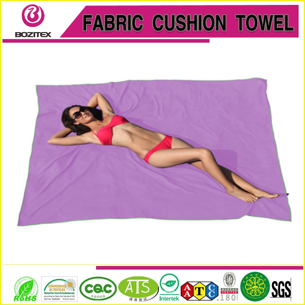 quick dry microfiber towel beach travel yoga sports gym swimming towel with customized logo and pounch